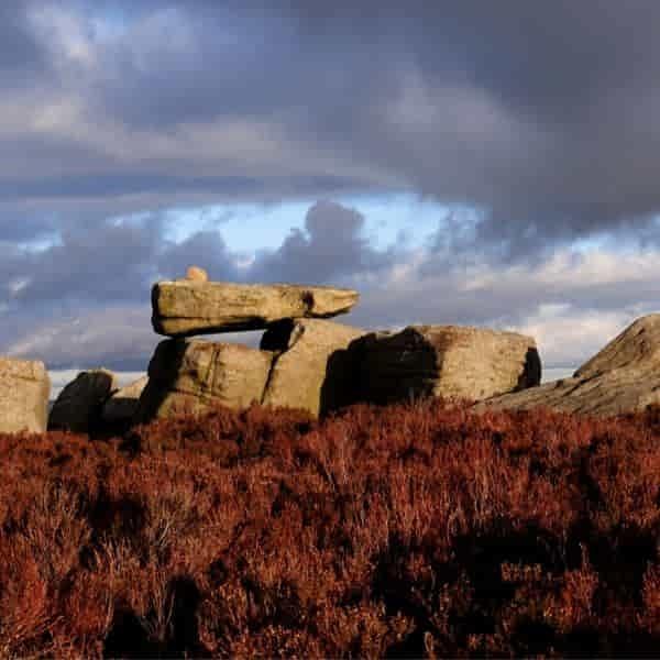 Alcomden Stones on Haworth Moor
