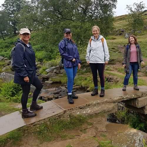 Bronte Bridge walkers