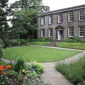Bronte Parsonage Museum garden
