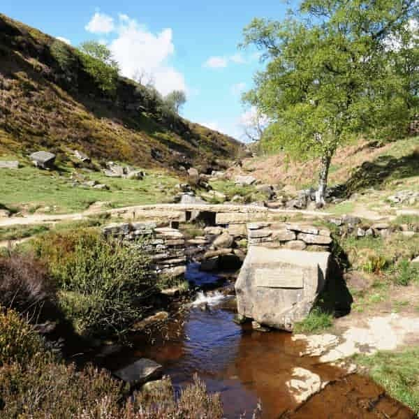 Bronte Waterfall on Haworth Moor