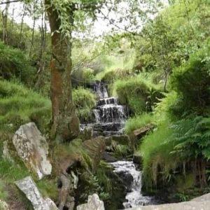 Bronte waterfall flowing