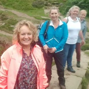 The dancers on a guided walk