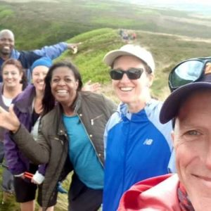 Our first guided walk