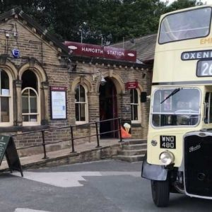 Haworth Railway Station and bus