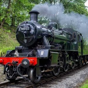 Keighley And Worth Valley Railway Steam Train