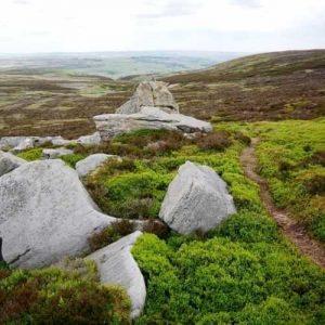 Alcomden Stones path