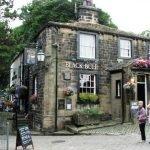 Black Bull pub in Haworth