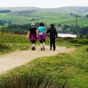 Penistone Hill Country Park walkers