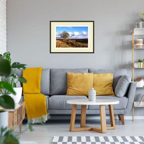 Top Withens Print Gift On Wall