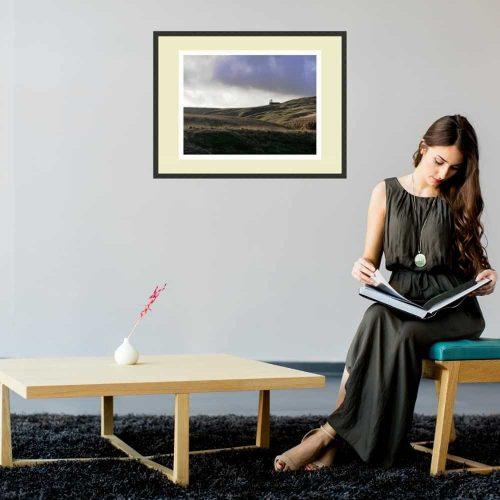 Unquiet Hills print gift