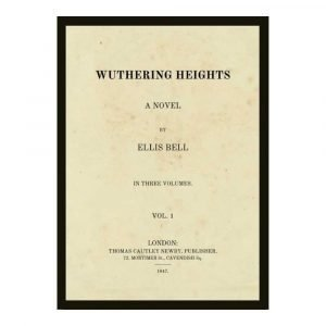 Wuthering Heights Page Print