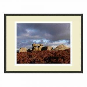 Alcomden Stones framed print