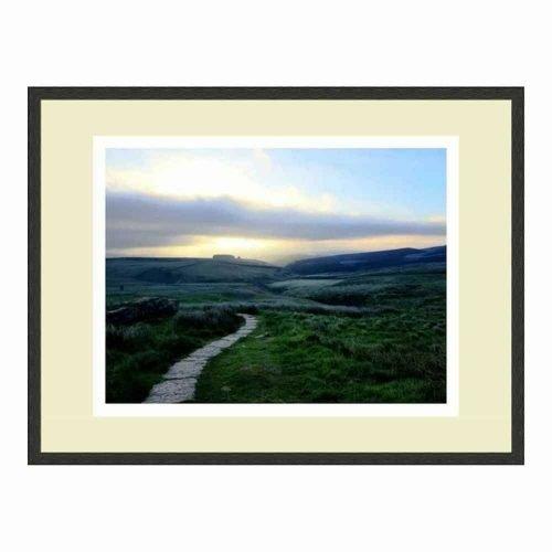 Mid Barren Hills Print